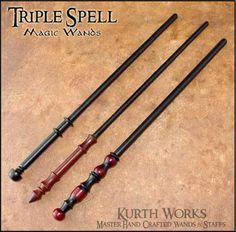 Triple Spell Wands