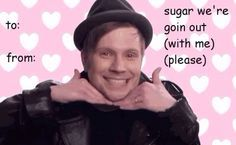 fall out boy tumblr valentines - Google Search