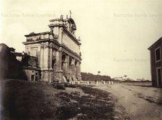 : Mostra dell'Acqua Paola (er Fontanone) Anno: 1870/80