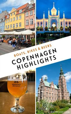 My top highlights from a weekend in Copenhagen – from colourful waterfront houses and tower viewpoints to a castle orangery restaurant and Danish craft beer tasting. #Denmark #Copenhagen