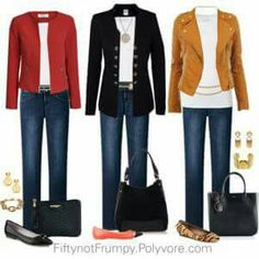 business mode damen Fifty, not Frumpy: Wear It Wednesday - Accessories Fashion Mode, 50 Fashion, Look Fashion, Winter Fashion, Fashion Outfits, Jeans Fashion, Fifties Fashion, Mature Fashion, Rockabilly Fashion