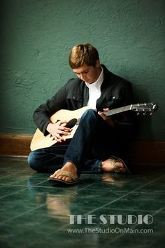 ©The Studio • La Crosse, WI www.TheStudioOnMain.com  Boy • Senior • Pictures • Portraits  Guitar •