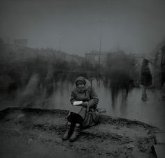 Alexey Titarenko (born 1962 in Leningrad, USSR, now Saint Petersburg, Russia) is a Russian photographer and artist. Titarenko's photographic series from the 1 White Photography, Street Photography, Movement Photography, Urban Photography, Alexey Titarenko, Dada Art Movement, City Of Shadows, Petersburg Russia, Long Exposure