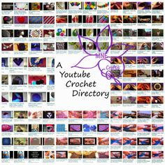 Youtube Crochet Directory by MNE Crafts