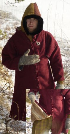 Coping with winter - article on creating garb for wear in winter weather