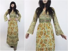60s vtg DEADSTOCK hippie INDIA bohemian ETHNIC by riseintothesun, $125.00