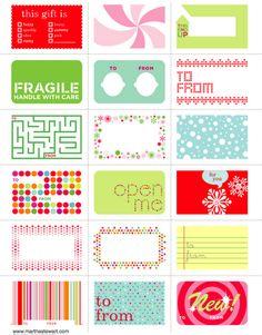 30 FREE Christmas Printables - Design Dazzle