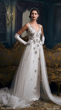 Eliza Jane Howell 2018 Wedding Dresses - World of Bridal Royal Dresses, Gala Dresses, Evening Dresses, Afternoon Dresses, Flapper Dresses, Bridal Gowns, Wedding Gowns, Bride Look, Beautiful Gowns