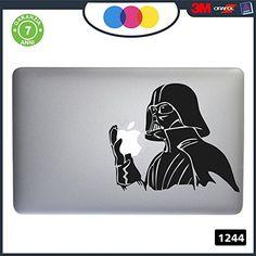 sticker-star Wars Darth vader-pour alle Modelle Apple Mac book-adhésif für alles Notebook nicht MAC BOOK Cod. 1244-noir