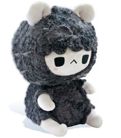 http://www.tastypeachstudios.com/collections/black-sheep/products/grumpy-sheep-plush