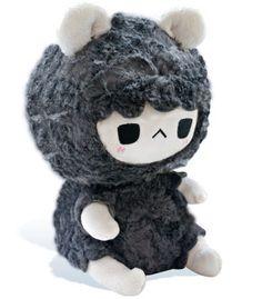 http://www.tastypeachstudios.com/collections/black-sheep/products/grumpy-sheep-plush