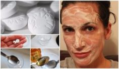 Today we will present you the most effective honey and aspirin home remedy that will solve one of the biggest problems for every person … This mask will turn most problematic skin in shiny, beautiful and healthy. Beauty Secrets, Diy Beauty, Beauty Hacks, Aspirin Face Mask, Lose 15 Pounds, Tips Belleza, Natural Home Remedies, Skin Problems, Health Problems