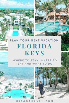 If you're traveling to the Florida Keys, use this Florida Keys travel guide to plan your trip and the perfect Florida Keys vacation things to do. These Florida Keys travel tips include the best places to go in the Florida Keys, best places to stay in the Florida Keys, best places to visit in the Florida Keys, best places to eat in the Florida Keys and even the best key lime pie in Florida Keys | florida keys vacation things to do | florida keys vacation resorts Vacation Resorts, Florida Vacation, Florida Keys, Top Travel Destinations, Places To Travel, Cool Places To Visit, Places To Go, Travel Guides, Travel Tips