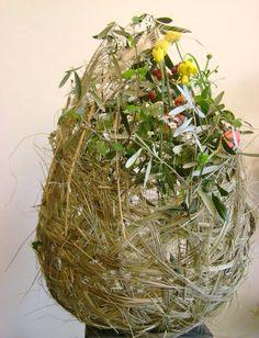 Gevlochten nest..