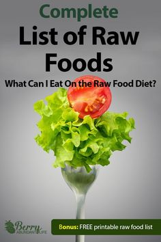 Raw Vegan Food List - Raw Foods for Weight Loss - Vegan Recipes Raw Food List, Raw Food Diet Plan, Food Lists, Whole Foods Market, Raw Vegan Recipes, Healthy Recipes, Raw Vegan Dinners, Tapas, Roh Vegan