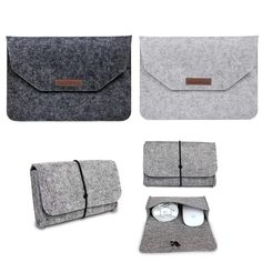 Hot Soft Felt Sleeve Bag Case For Apple Macbook Air Pro Retina 11 12 13 15 Laptop Anti-scratch Cover For Mac book 13.3 inch //Price: $5.85//     #onlineshop