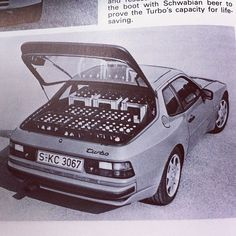 944 Turbo + beer