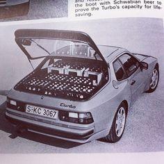 944 Turbo + beer