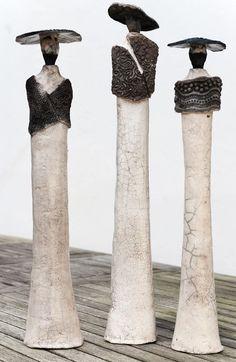 Sculpture - Marie Juge - Sculpteur raku - Sculptures: