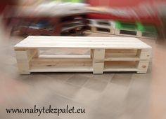 Stoly | TV stolek malý 40x120cm (výška 30cm) | Netradiční stylový nábytek - nábytek z palet.