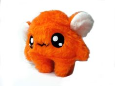 Fluse Kawaii Plush Monster  Orange von Fluse123 auf Etsy, €22.00