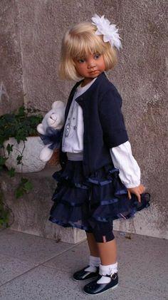 Angela Sutter's doll Bluebell