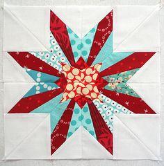 Oregon Star 4x5 block by freshlypieced, via Flickr