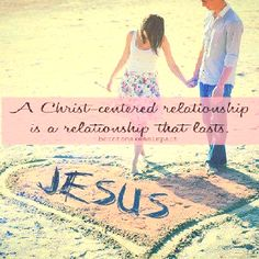 If God is the center of your relationship , nothing can break it .
