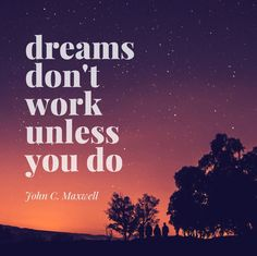 Dreams will just stay dreams with #work they become reality. #dream #positivevibes #gratitude #dreams #wishes #hope #reallife #youcandoit #motivation #achieve #motivation