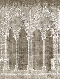 Wallpaper for contemporary furniture - Wall & Decò