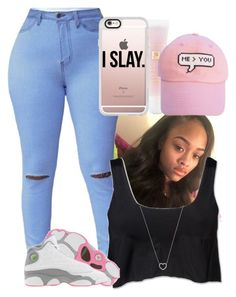 """""""OOTD-Tamara"""" by trill-asf-anons ❤ liked on Polyvore featuring Studio by Capezio, Tiffany & Co., Lancôme, Casetify, me you and Retrò"""