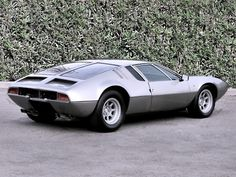 """1967 DeTomaso Mangusta Ghia. The word """"Mangusta"""" is Italian for """"Mongoose"""", an animal that can kill cobras. (Of course we know now: NOTHING can kill a COBRA!)"""