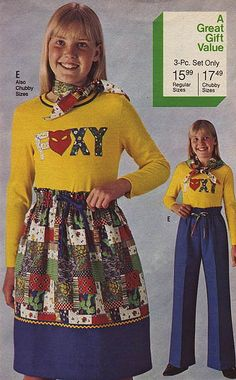 I'd like one of the 'Foxy' tops in 'chubby size' please!