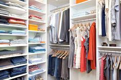 DIY Closet Organizer Rack Clothes Hangers