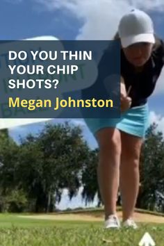 LPGA teacher Megan Johnston has a simple focus drill to help you get the bottom of your chipping swing arc in front of the ball. #golf #golftip #golfswing #golflessons #womensgolf Senior Games, Golf Academy, Golf Instructors, Chipping Tips, Record Holder, Florida Girl, Teaching Methods, Lpga