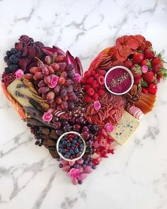 Charcuterie boards are all the rage and perfect for Valentine's Day. From a candy board to a brunch board celebrate your Vals and your Gals. Valentine Desserts, Valentines Day Treats, Valentine Decorations, Easter Treats, Holiday Treats, Charcuterie Recipes, Charcuterie And Cheese Board, Cheese Boards, My Funny Valentine
