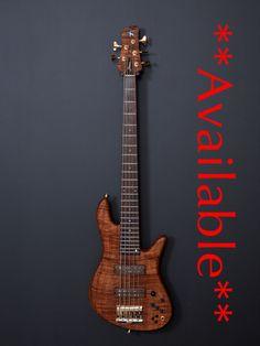 Fodera bass guitar
