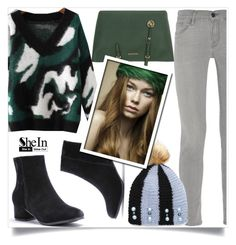 """""""Shein 9"""" by aida-banjic ❤ liked on Polyvore featuring Frame, MICHAEL Michael Kors, Pretty Green and shein"""