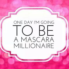 Today has been an awesome Younique day for me! Now I hear Younique, a company less than 2 years old, selling over 15,000 mascara's a day (yes per day!), will more than likely have its FIRST MILLIONAIRE PRESENTER by December! Just another reason why I love being a part of this company. Dreams do come true and mine are next. Your's can come true too!