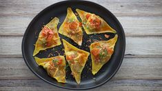 Everyday Gourmet with Justine Schofield Luv-a-Duck Duck Wontons in Chilli Oil Sauce Duck Recipes, Gourmet Recipes, Asian Recipes, Ethnic Recipes, Luv A Duck, Duck Duck, Wonton Wrappers, Latest Recipe, Baked Beans