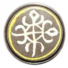 Het Ghanese Funtunfunefu of -funtufu- symbool weerspiegelt twee kruisende krokodillen, welke een maag delen. Dit teken staat symbool voor eenheid in democratie.