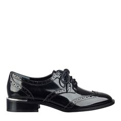 Katie Man Tailored Lace Up Oxford - Oxfords - Shoes - Shop