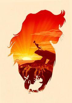 Disney The Lion King Poster Print | Etsy