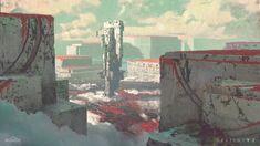 ArtStation - Nessus Landing Zone in Destiny 2., Sung Choi