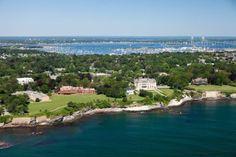 A bird's eye view of Salve Regina University