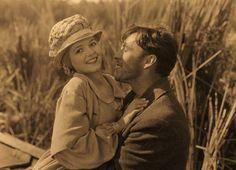 """JANET GAYNOR & GEORGE O'BRIEN in """"Sunrise""""  (1927)"""
