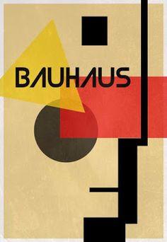 Bauhaus Inspired Poster by: Unknown Retro Poster, Poster S, Typography Poster, Typography Design, Lettering, Art Bauhaus, Design Bauhaus, Bauhaus Style, Walter Gropius