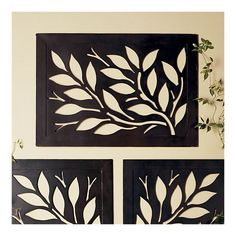 Have this hanging above my bed...Love it!!!! From Crate and Barrel. Reversible wall art.