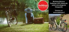 #Bicicleta #Eléctrica #Redwings LUPI, la urbana de estilo, con tecnología de Vanguardia