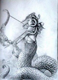 Please comment below on what you think. Medusa Snake, Medusa Art, Medusa Tattoo, Medusa Greek Mythology, Look Into My Eyes, Body Art Tattoos, Carving, Deviantart, Drawings